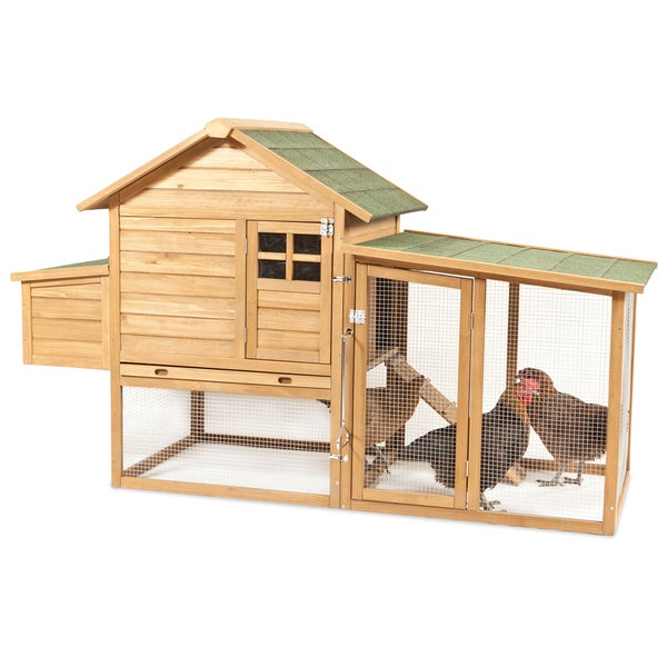 Aspen Pet Peak Roof Complete Chicken Coop