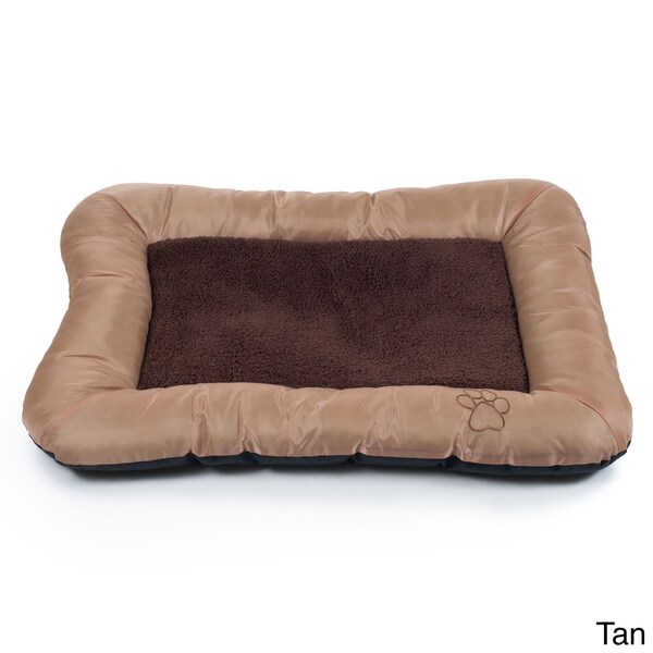 Paw Plush Cozy Pet Crate Dog Bed