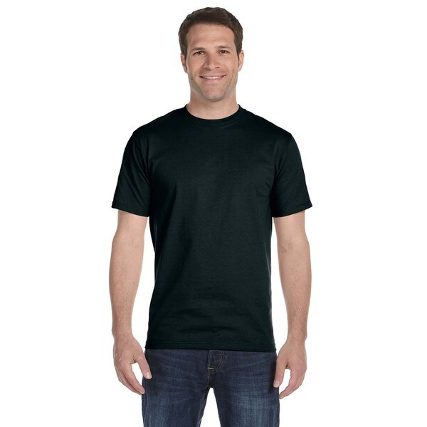 Fruit Of The Loom Men's Black 100-percent Cotton Lofteez HD Undershirt (Pack of 12)