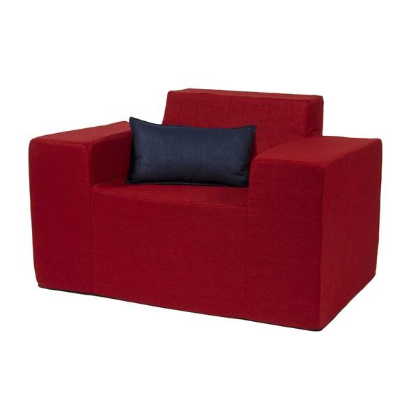 Softblock Very Berry Indoor/ Outdoor Foam Chair ...