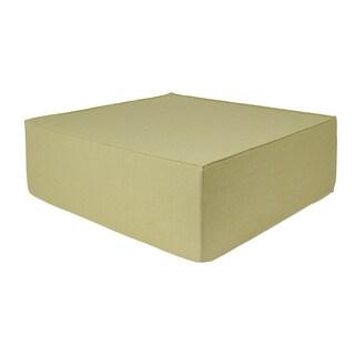 Softblock Sage 44-inch Indoor/ Outdoor Foam Ottoman