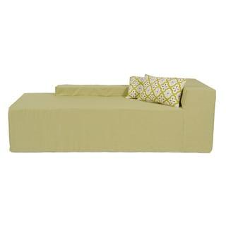 Softblock Sage Indoor/Outdoor Foam Chaise