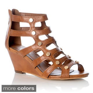 NY VIP Women's Gladiator Wedge Sandals