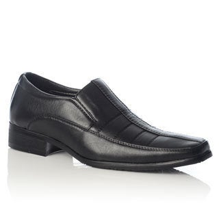 Henry Ferrera Men's Stitched Upper Square Toe Loafers