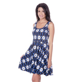 White Mark Universal Women's Skater Dress