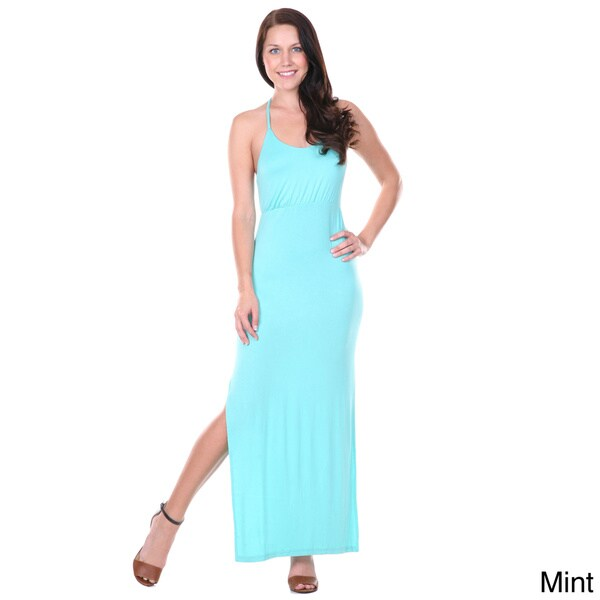 White Mark Women's Sexy Maxi Dress