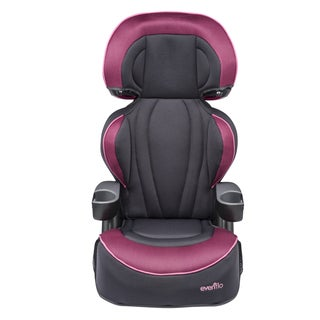 Evenflo Big Kid LX High Back Booster in Berry Blast