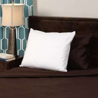 CozyClouds by DownLinens Deluxe White Goose Down Pillow