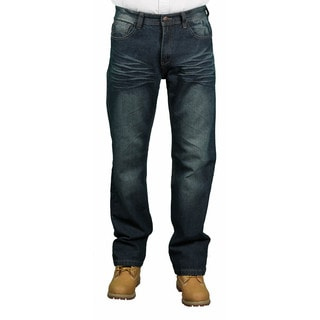 MO7 Men's Modern Straight Fit Fashion Jeans
