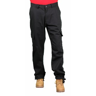 Akademiks Men's Black Cargo Pants