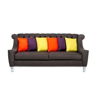 inncdesign Miccah Contemporary Button-tufted Sofa
