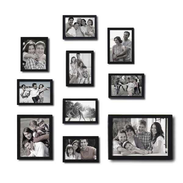 Adeco 10-piece Picture Frame Set