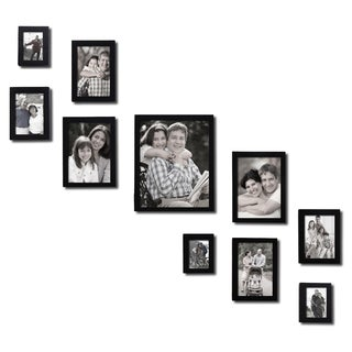 Adeco 10-piece Photo Frame Set
