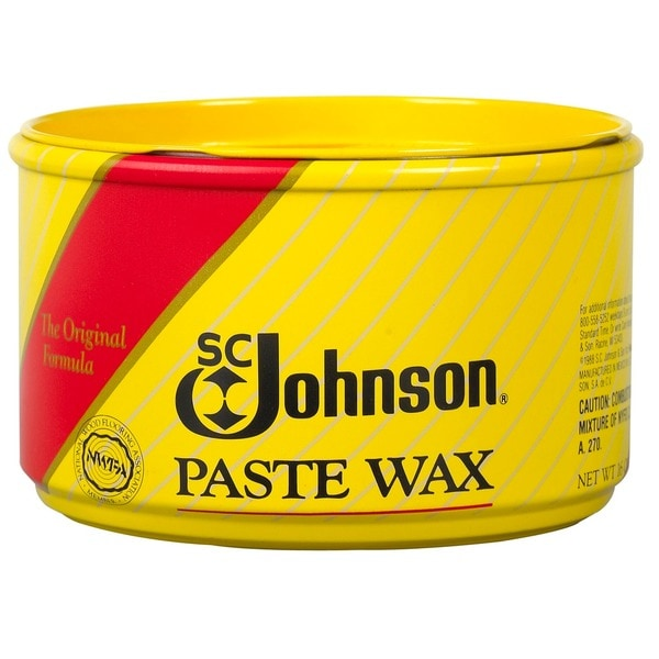Sc Johnson 16 Ounce Fine Wood Furniture Paste Wax Can (pack Of 6)