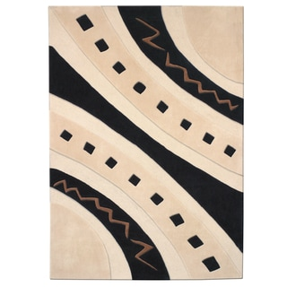 Mystique Abstract Arches Rug (6.7 x 9.6)
