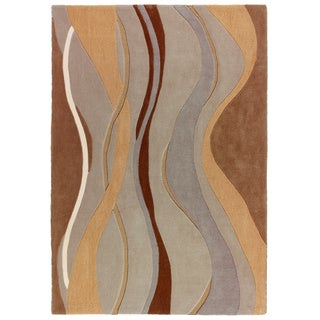Mystique Waves Rug (6.7 x 9.6)