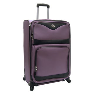 Oleg Cassini Estate 28-inch Expandable Spinner Upright Suitcase