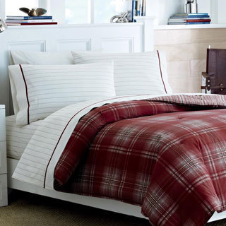 Nautica Ridgehill Cotton 3-piece Duvet Cover Set