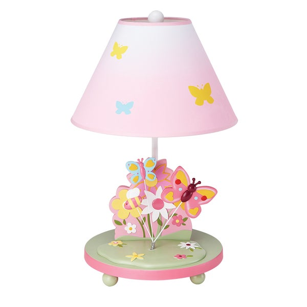 guidecraft butterfly buddies table lamp 16258278. Black Bedroom Furniture Sets. Home Design Ideas