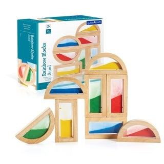 Guidecraft Rainbow Blocks Sand
