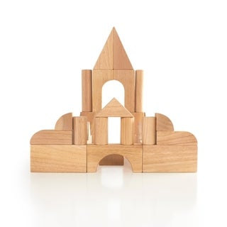 Guidecraft 34-piece Hardwood Unit Block Set