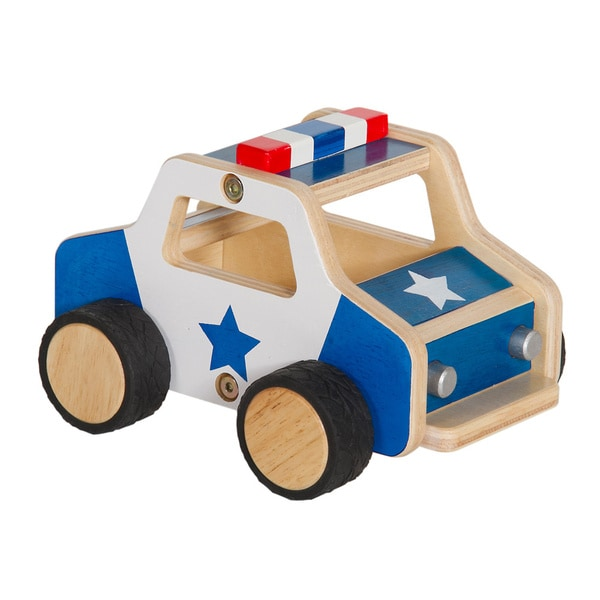 Guidecraft Plywood Police Car