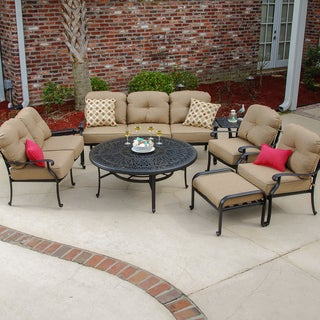 Rosedown 7-piece Deep Seating Patio Furniture