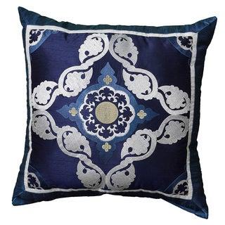Saben Blue 18-inch Accent Throw Pillow (Set of 2)