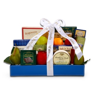 Alder Creek Gift Baskets Sympathy Fresh Fruit Gourmet Basket