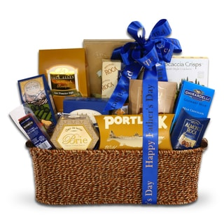 Alder Creek Gift Baskets Sophisticated Gourmet Basket for Dad