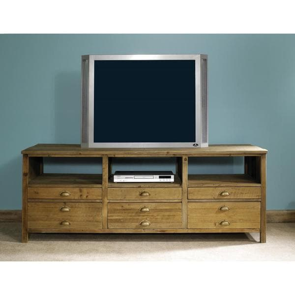 Salvaged Wood Television Console