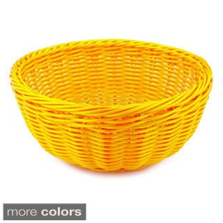 Solid Cord Round Bowl Basket (Set of 3)
