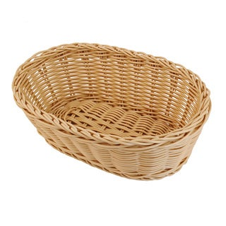 Colorbasket Natural Deep Oval Baskets (Set of 2)