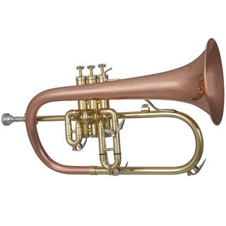 Blessing Professional Flugelhorn Lacquered Brass Trumpet