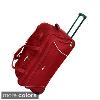 Rolling Refinement 30-inch Wheeled Upright Duffel Bag