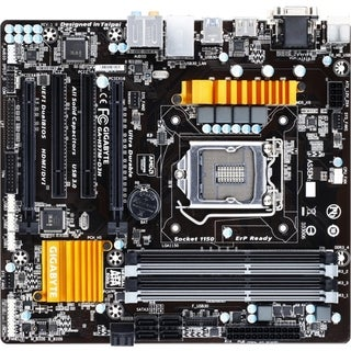 Gigabyte Ultra Durable GA-H97M-D3H Desktop Motherboard - Intel H97 Ex