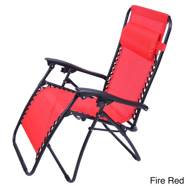 Outsunny Zero Gravity Recliner Lounge Chair