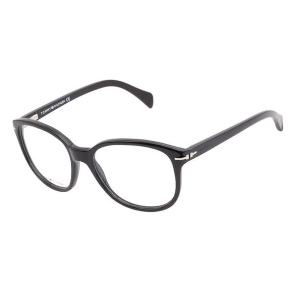 Tommy Hilfiger 1033 807 Black Prescription Eyeglasses