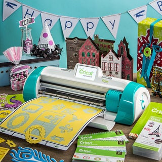 Cricut Expression 2 Teal Die Cut Machine with Bonus French Manor Cartridge