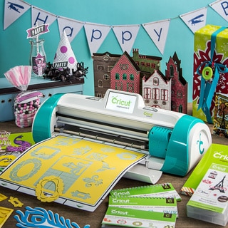 Cricut Expression 2 Teal Die Cut Machine with 2 Preloaded Cartridges & Bonus French Manor Cartridge