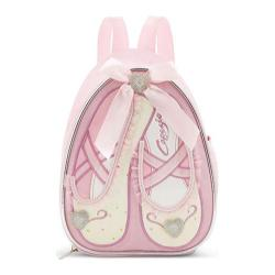 Women's Capezio Dance Slippers Backpack (Set of 2) Pink Sparkle