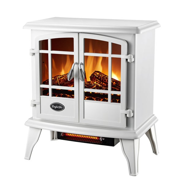 CG Keystone Quartz Electric Stove White