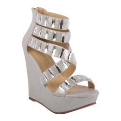 Women's L & C Kyndra-01 Silver