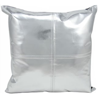 "Michael Amini Throw Pillow Silver 16"" x 16"" by Nourison"