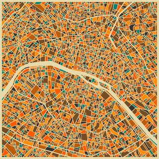 Jazzberry Blue 'Paris ' Fine Art Giclee Prints