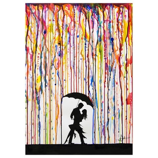 Marc Allante 'Tempest' Gallery Wrapped Canvas