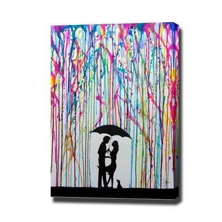 Marc Allante 'Two Step' Gallery Wrapped Canvas