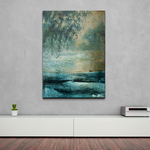 Ready2HangArt 39 BX Abstract XXVIII 39 Oversized Canvas Wall Art