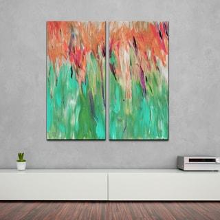 Ready2HangArt 'Abstract Landscape' 2-piece Canvas Wall Art