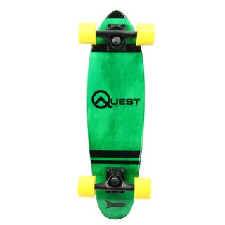 Quest Green Pockit Rockit Cruizer 24-inch Skateboard
